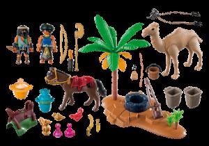 Kemp zlodějů 5387 Playmobil Playmobil