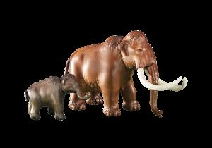 Mamut s mládětem 6366
