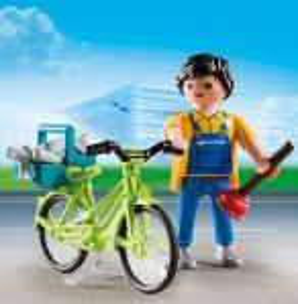 Opravář s kolem 4791 Playmobil Playmobil