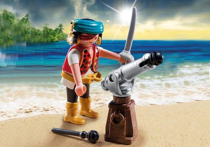 Pirát s kanónem 5378 Playmobil Playmobil