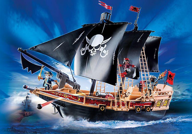 Pirátská bitevní loď 6678 Playmobil Playmobil