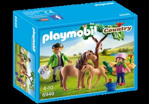 Poník s hříbětem 6949 Playmobil Playmobil