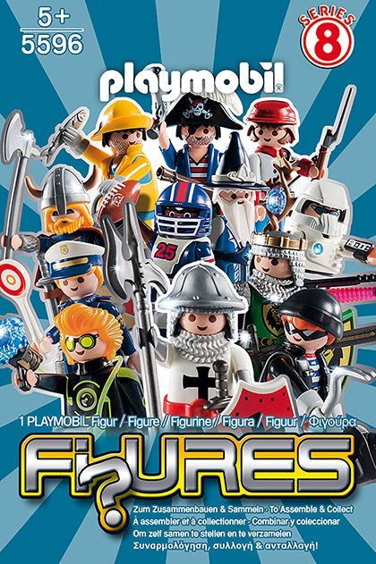 Překvapení pro kluky (8) 5596 Playmobil Playmobil