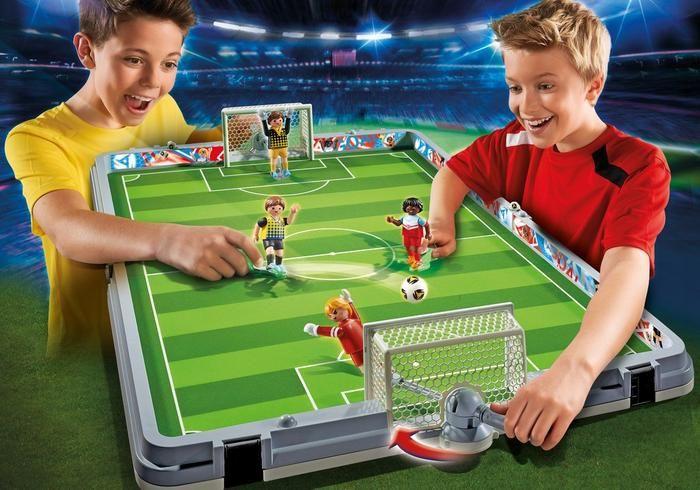 Přenosná fotbalová aréna 6857 Playmobil Playmobil