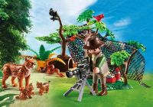 Rysí rodina s filmařem 5561 Playmobil Playmobil