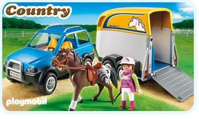Terénní auto s přívěsem 5223 Playmobil Playmobil