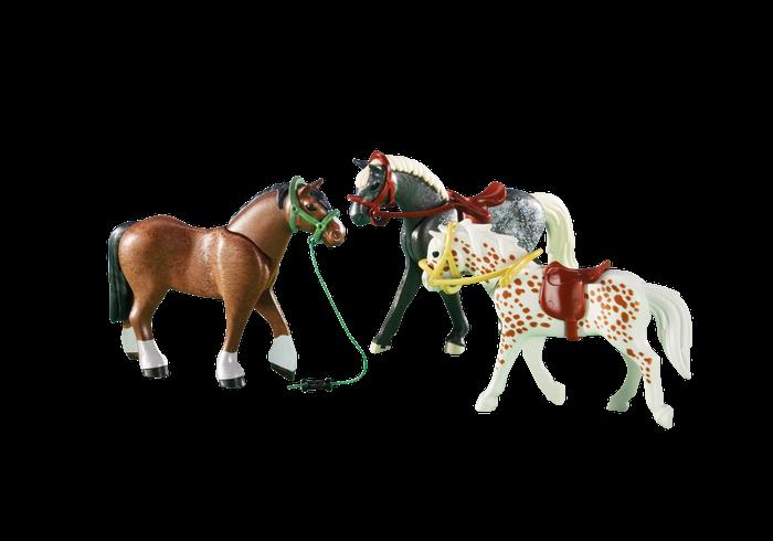 Tři koně 6360 Playmobil Playmobil