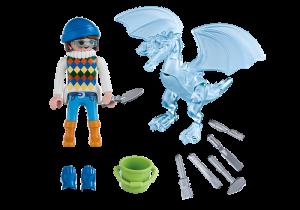 Umělkyně s ledovou sochou 5374 Playmobil Playmobil