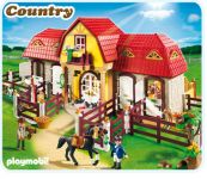 Velká stáj s ohradou 5221 Playmobil Playmobil