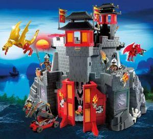 Velký asijský dračí hrad 5479