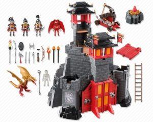 Velký asijský dračí hrad 5479 Playmobil Playmobil
