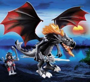 Velký drak s LED ohněm 5482