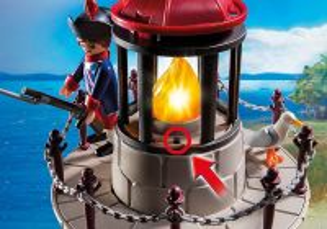 Věž s majákem 6680 Playmobil Playmobil