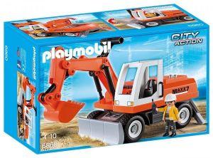Bagr s radlicí 6860 Playmobil Playmobil