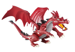 Červený drak 6498