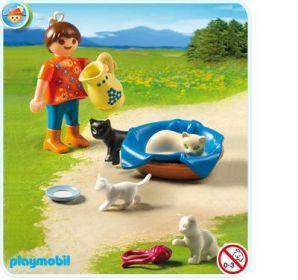 Dívka s kočičkama 5126