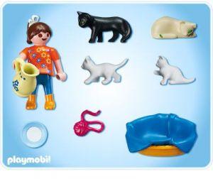 Dívka s kočičkama 5126 Playmobil Playmobil