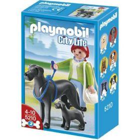 Doga se štěnětem 5210 Playmobil Playmobil