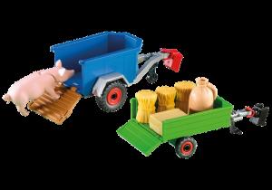 Dva přívěsné vozíky 7439 Playmobil Playmobil