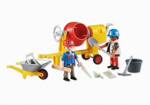 Dva stavební dělníci 6339