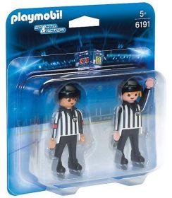 Hokejoví rozhodčí 6191 Playmobil Playmobil