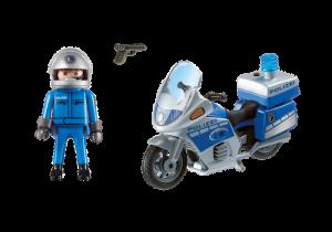 Motohlídka s majákem 6876 Playmobil Playmobil