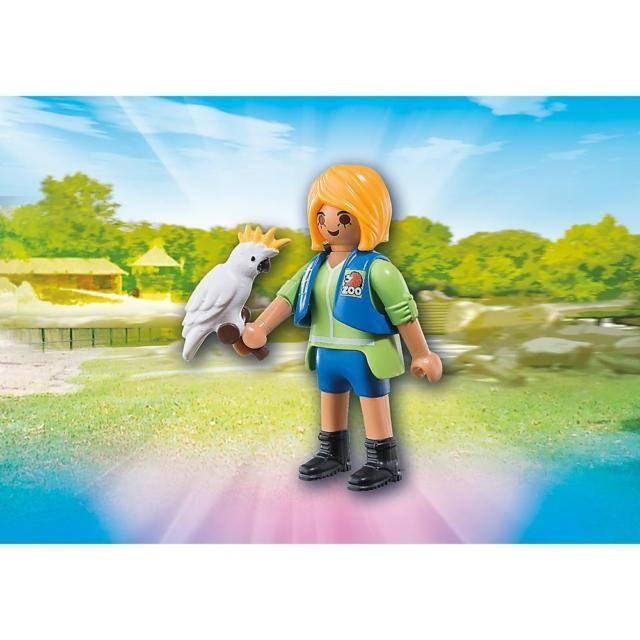 Ošetřovatelka s kakadu 6830 Playmobil Playmobil