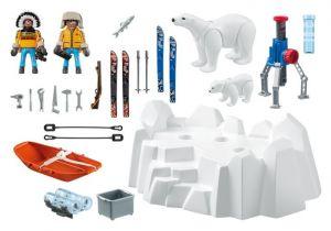 Polární hlídka s ledními medvědy 9056 Playmobil Playmobil