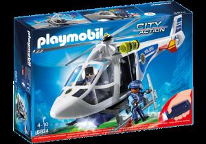 Policejní vrtulník s reflektorem 6874 Playmobil Playmobil