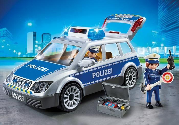Policejní vůz s majáky 6873 Playmobil Playmobil