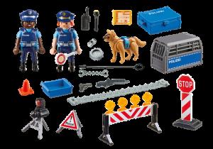 Policejní zátaras 6878 Playmobil Playmobil