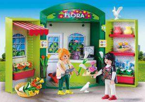 Přenosný box Květinářství 5639 Playmobil Playmobil