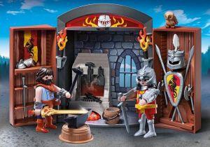 Přenosný box Rytířská kovárna 5637 Playmobil Playmobil