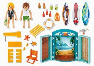 Přenosný box Surfařský obchod 5641 Playmobil Playmobil