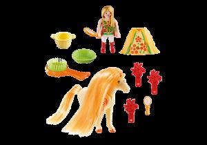 Přenosný kufřík - Česací koník 5656 Playmobil Playmobil