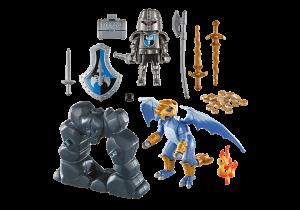 Přenosný kufřík - Dračí rytíř s drakem 5657 Playmobil Playmobil