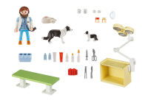 Přenosný kufřík - Návštěva u veterinářky 5653 Playmobil Playmobil