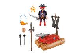 Přenosný kufřík - Pirát na voru 5655 Playmobil Playmobil
