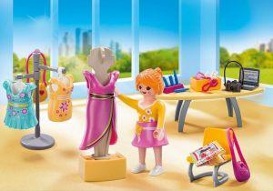 Přenosný kufřík - Prodavačka v butiku 5652 Playmobil Playmobil