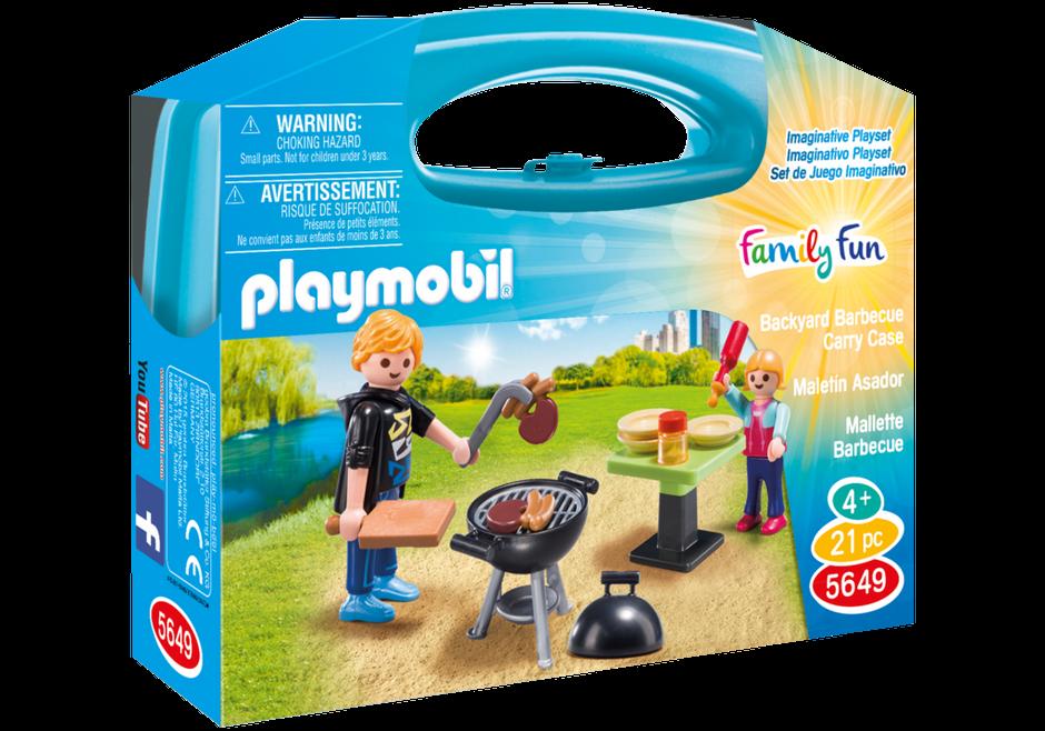 Přenosný kufřík - Zahradní grilování 5649 Playmobil Playmobil