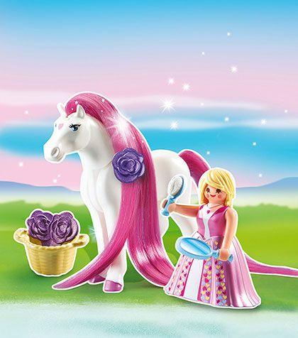Princezna Rosalie s koněm 6166 Playmobil Playmobil