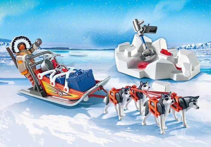 Psí spřežení 9057 Playmobil Playmobil
