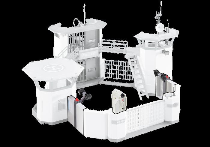 Rozšíření Policejní centrály 6503 Playmobil Playmobil