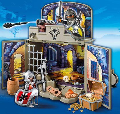 Zavírací box - Rytířská pokladnice 6156 Playmobil Playmobil