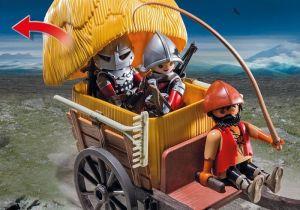 Jestřábí rytíř v tajném voze 6005 Playmobil Playmobil