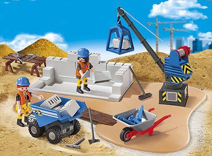 Staveniště 6144 Playmobil Playmobil