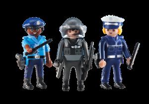 Tři policisté 6501 Playmobil Playmobil
