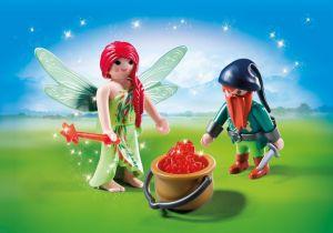 Víla a trpaslík 6842 Playmobil Playmobil