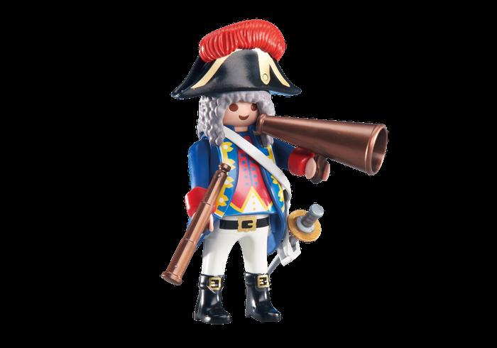 Vojenský kapitán 6435 Playmobil Playmobil