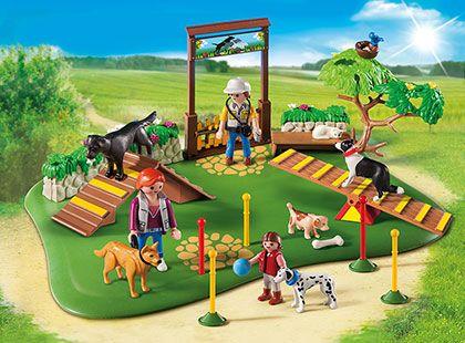 Výcvik psů 6145 Playmobil Playmobil